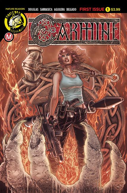 Carmine Issue #1: Summoning PRINT (Variant by Juan José Ryp)