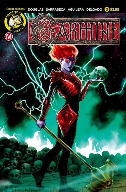 Carmine Issue #3: The Lightning Beast PRINT (Variant by Diego Galindo)