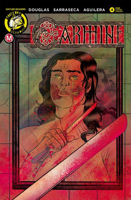 Carmine Issue #4: Deconstruction (Variant by David Rubin)