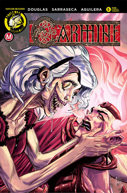 Carmine Issue #5: Primogeniture (Variant by Fran Galán)