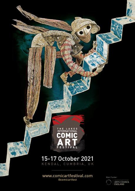 Lakes International Comics Arts Festival: 15-17th October 2021